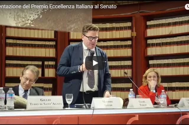 Presentato al Senato il Premio Eccellenza Italiana