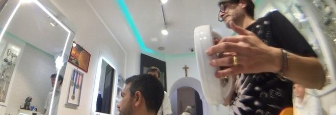ILMATTINO (VIDEO): Il barbiere dei vip vola in America: «Vi racconto lo shampoo di Pavoletti negli spogliatoi»